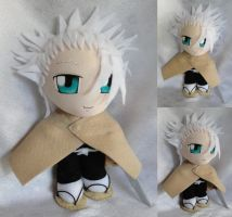 Commission, Mini Plushie Toshiro Hitsugaya, DDR by ThePlushieLady