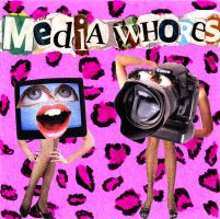 'Media Whores' Cd Cover by Loftio