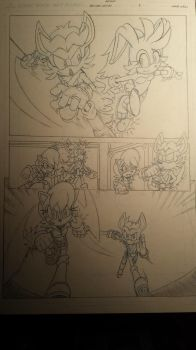 sonic comic origins ant pencils pg5 by trunks24