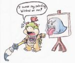Bowser Jr's Magic Paint Brush by MarioBabies-FanClub