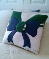 Sailor Neptune Pillow by CynicalSniper