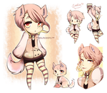 Kemonomimi Adoptable - Auction CLOSED by Medopts