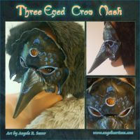 Three-Eyed Crow Mask by Angelic-Artisan
