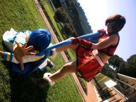 Help! [KaiMei cosplay @Comicon 2012] by MariVargas93