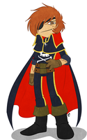 Captain Harlock by deeum
