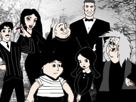 The Addams Family - MY Style by XTUNEBRYM