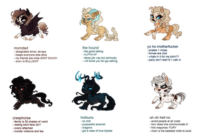 SA | Tag Yourself 2.0 by Queerly