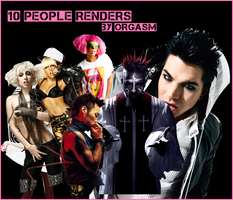 Orgasm People Render Pack by OrgasmVz