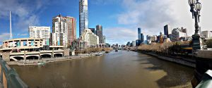 Panorama Melbourne City by DanielleMiner
