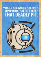 Wheatley Poster by Procastinating