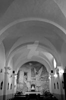 Black and White inside the Chapel by aggie00