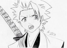 Bleach: Hitsugaya by 19Skejciara10