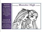 MONSTER HIGH Folder by JadeDragonne