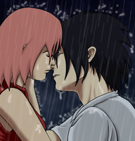 SxS: Kiss in the Rain - Collab by carapau