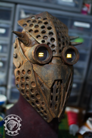 Trypophobia wasteland raider mask by TwoHornsUnited