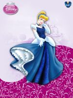 DisneyPrincess-Cinderella3ByGF by GFantasy92