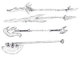 Polearm Designs by arvalis