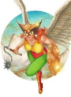 Shiera Hall, Hawkwoman by Dangerous-Beauty778