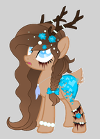 [=Pony Adopt=] Deer Rose Pony {SOLD} by Hunkell