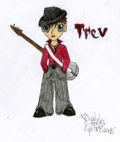 Trev chibi character by sapphire-blackrose