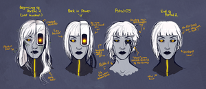 More GLaDOS-y stuff by TwinklePowderySnow