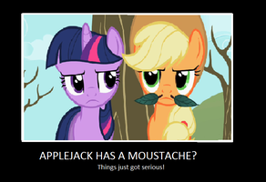 My little pony motivational poster by snowtail86
