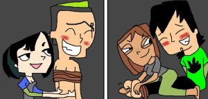 Duncan and Trent tickled 2 by TheCartoonTickler