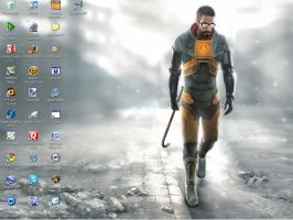 half life 2 desktop by dragonbob0