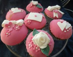 Valentine's cakes by S-y-c