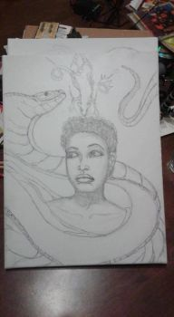 WIP One of six untitled by HARDRICKART