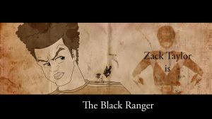Black Ranger For Re-animated by Kenny-boy