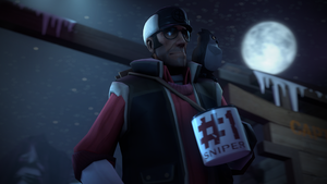 sniper does a drinky by coolmemes