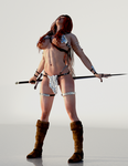 Red Sonja - How do I get into these messes? by Vad-mig-orolig