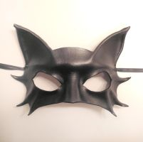 Little Kitty Leather Mask by teonova