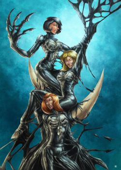 Totally Spies symbiote by cric