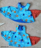 Finding Nemo Baby Dress by aimeekitty