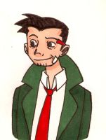 Detective Dick Gumshoe by Apatha7