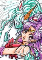 ACEO 72 - Dreaming Princess by sky-fish7