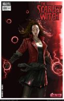 Avengers: Age of Ultron: Scarlet Witch by smarajit92