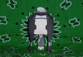 Haku Papercraft - Without Mask by HaoLRed