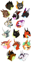 A Butt-ton of Busts by Susiron