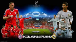 Bayern Munich - Real Madrid by jafarjeef