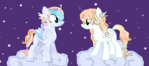 Snow Song And Fiery shine In Crystal Form by kittenAX
