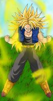 Trunks ssj3 Finish by ExtremeNick
