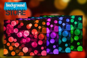 Free Bokeh Background by BackgroundStore