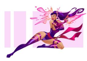 Psylocke by pushfighter
