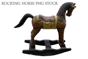 Rocking Horse png stock by KarahRobinson-Art