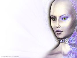Icey Female wp by metal-levon