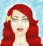Painted Face Done Little Mermaid by ash12783