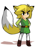 Fox Toon Link by Blushily